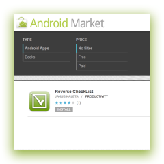 Jakub's Android Market apps